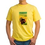 Harvest Thanksgiving Yellow T-Shirt