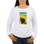 Harvest Thanksgiving Women's Long Sleeve T-Shirt