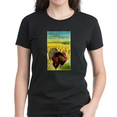 Harvest Thanksgiving Women's Dark T-Shirt