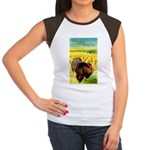 Harvest Thanksgiving Women's Cap Sleeve T-Shirt