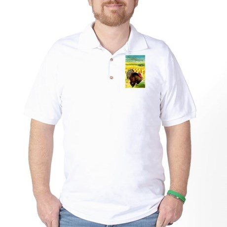 Harvest Thanksgiving Golf Shirt