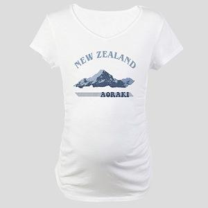 Aoraki New Zealand Vintage Maternity T-Shirt