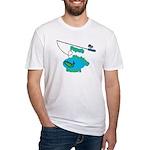 Papa's Fishing Buddy Fitted T-Shirt