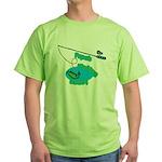 Papa's Fishing Buddy Green T-Shirt