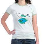 Papa's Fishing Buddy Jr. Ringer T-Shirt