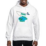 Papa's Fishing Buddy Hooded Sweatshirt