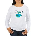 Papa's Fishing Buddy Women's Long Sleeve T-Shirt