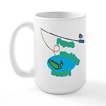 Papa's Fishing Buddy Large Mug