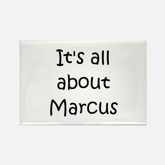 Cute Marcus Rectangle Magnet
