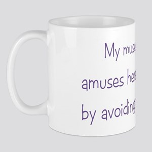 Muse Abuse Mauve 2 Mug