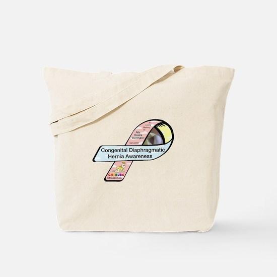 Ally Dorrington CDH Awareness Ribbon Tote Bag