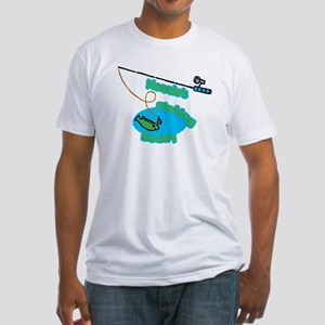 Nonnie's Fishing Buddy Fitted T-Shirt