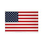 American Flag Stuff Rectangle Magnet (100 pack)