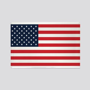 American Flag Stuff Rectangle Magnet
