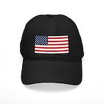 American Flag Stuff Black Cap
