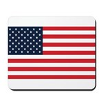 American Flag Stuff Mousepad