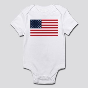 American Flag Stuff Infant Creeper