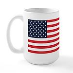 American Flag Stuff Large Mug