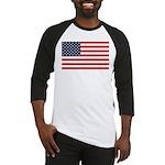 American Flag Stuff Baseball Jersey