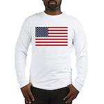 American Flag Stuff Long Sleeve T-Shirt