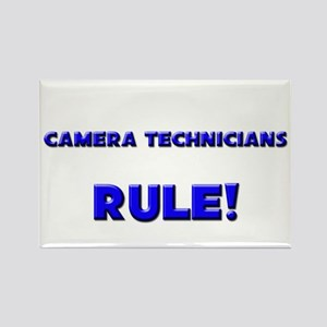Camera Technicians Rule! Rectangle Magnet