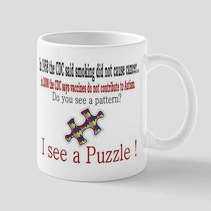 I see a PUZZLE CDC! Mug