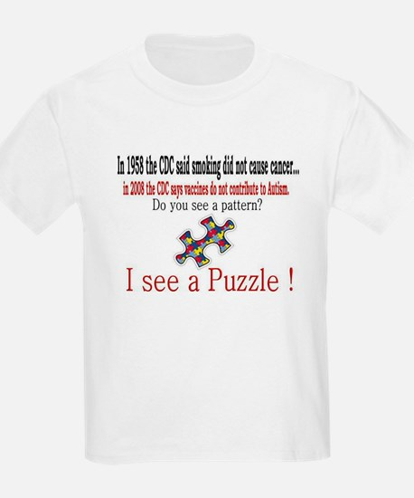 I see a PUZZLE CDC! T-Shirt