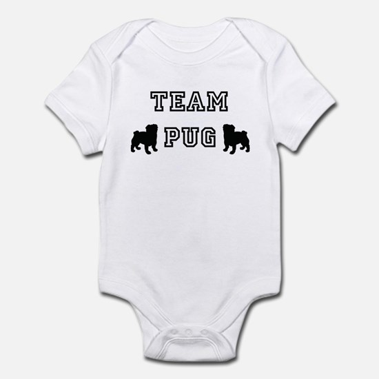 Team Pug Infant Bodysuit