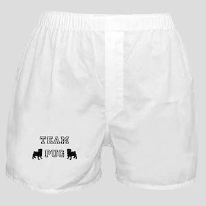 Team Pug Boxer Shorts