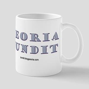 Peoria Pundit Logo Mug