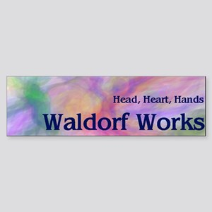 Waldorf Works Bumper Sticker
