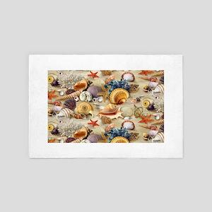 Sea Shells 4' x 6' Rug
