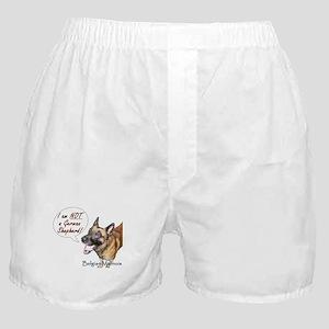 I'm not a German Shepherd! Boxer Shorts