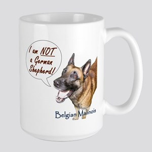 I'm not a German Shepherd! Large Mug