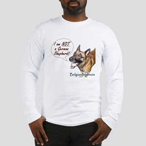 I'm not a German Shepherd! Long Sleeve T-Shirt