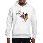 I'm not a German Shepherd! Hooded Sweatshirt