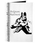 Malinois Silhouette Journal