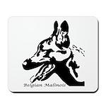 Malinois Silhouette Mousepad