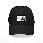 Malinois Silhouette Black Cap