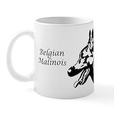 Malinois Silhouette Mug
