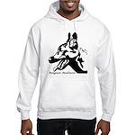 Malinois Silhouette Hooded Sweatshirt