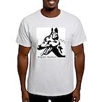 Malinois Silhouette Ash Grey T-Shirt