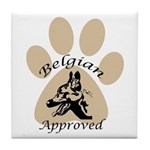 Belgian Approved Tile Coaster