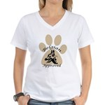 Belgian Approved Women's V-Neck T-Shirt