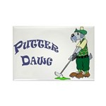 PutterDawg Rectangle Magnet (100 pack)