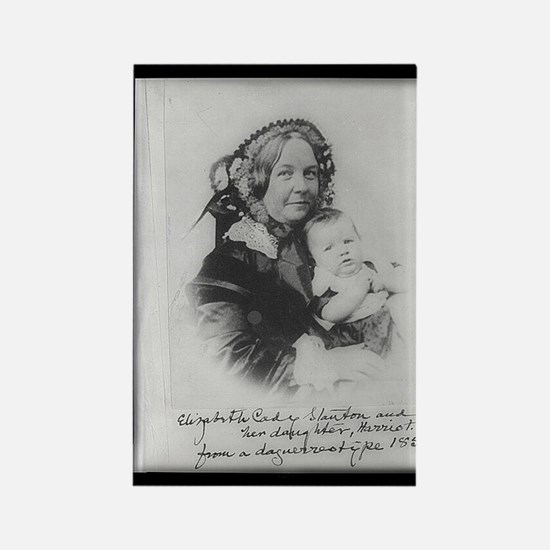 Elizabeth Cady Stanton Rectangle Magnet