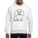 Dachshund Hooded Sweatshirt