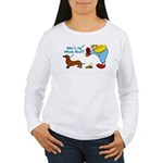 Who's the Weenie Now Women's Long Sleeve T-Shirt