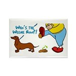 Who's the Weenie Now Rectangle Magnet (10 pack)