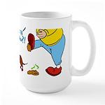 Who's the Weenie Now Large Mug